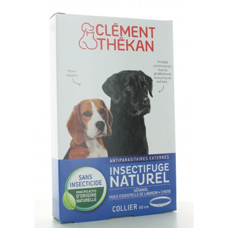 Collier Insectifuge Naturel Chien Clément Thékan