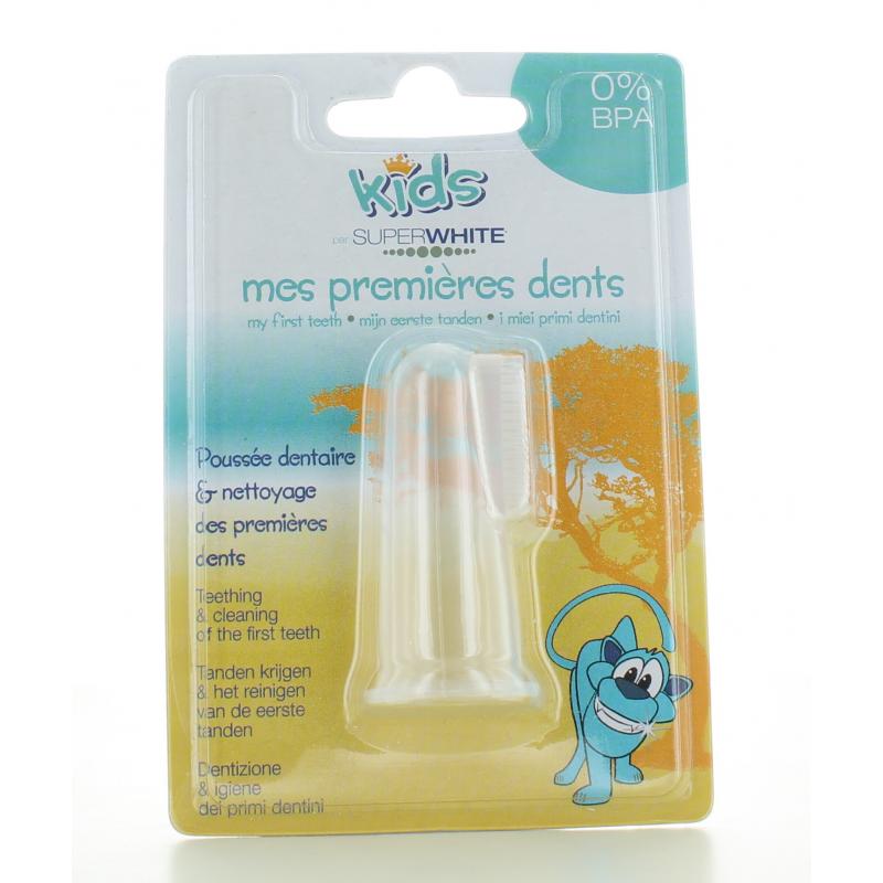 Brossette Mes Permières Dents SuperWhite Kids