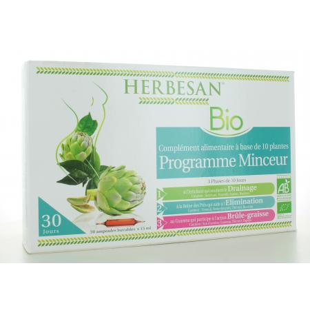 Herbesan Bio Programme Minceur 30 ampoules