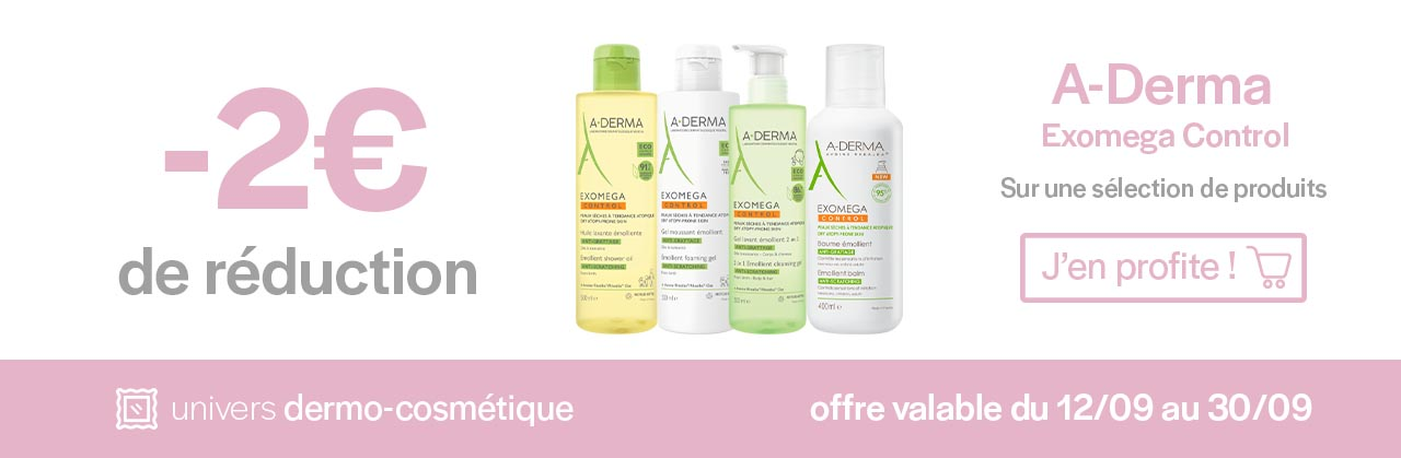 Promotions A-Derma Exomega Control