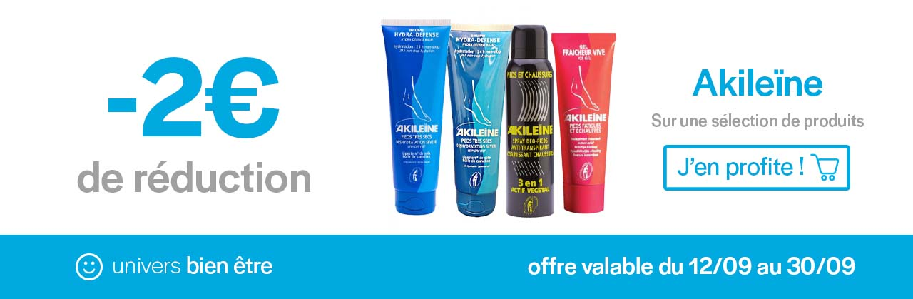 Promotions Akilieine Univers Pharmacie