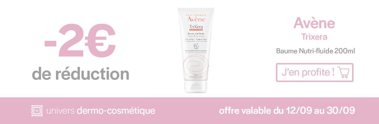Promotions Avène Trixera Baume Univers Pharmacie