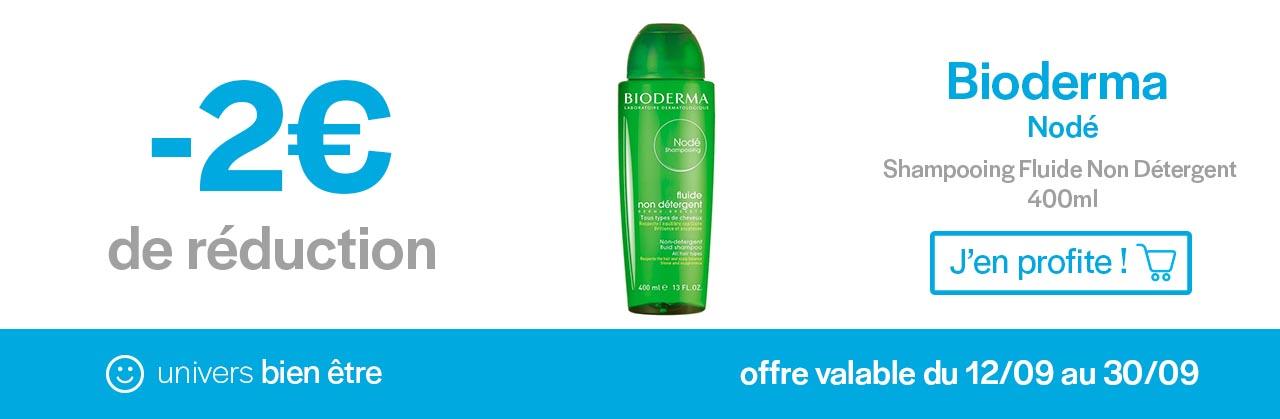 Promotion shampooing Bioderma Node Univers Pharmacie