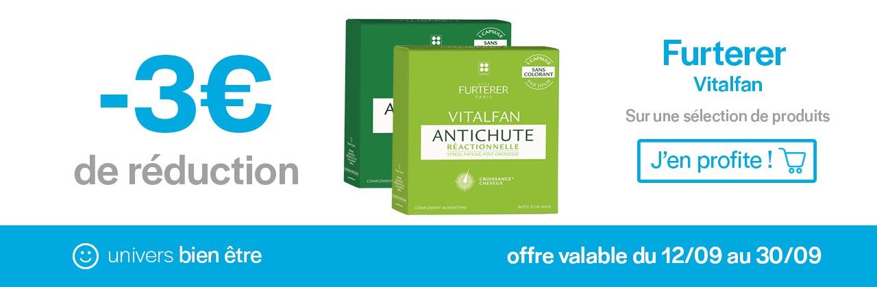 Promotions Furterer Vitalfan Univers Pharmacie