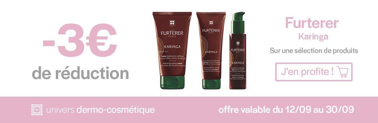 Promotions Furterer Karinga Univers Pharmacie